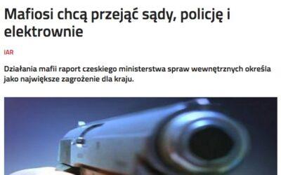 Ekspert do spraw bezpieczeństwa Petr Pojman twierdzi, że partie polityczne są celem działań korupcyjnych