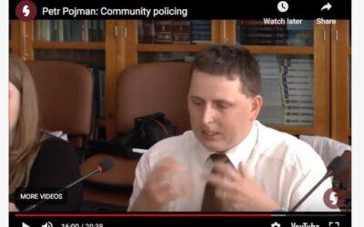 Petr Pojman: Community policing